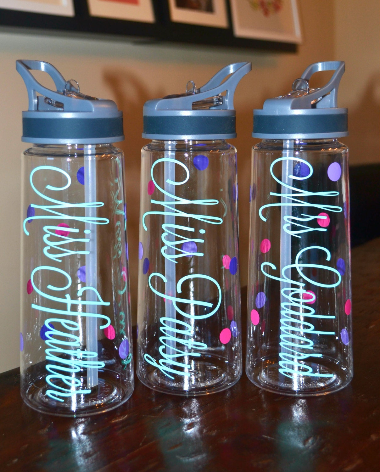 Water Bottle Personalised: Personalized Water Bottle Christmas GiftPersonalized