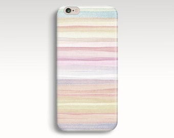 iPhone 6s Case, iPhone 6 Case, Neutral iPhone 5C Case, Vintage Stripes iPhone 5s Case, iPhone 5 Case, Rose Gold iPhone 6 Plus Christmas Gift