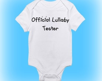 Music Baby Clothes - Unique Baby Shower Gift - Lullaby Tester Onesie®- Baby Boy Clothing - Baby Girl Clothes - Gift for New Baby - Baby Gift