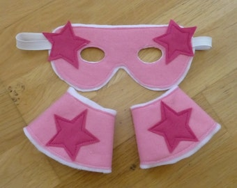 Superhero Mask and Cuffs