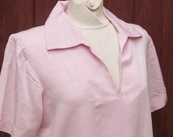 SALE 1980s YSL Leisure wear Baby pink