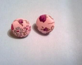Liberty Button Earrings