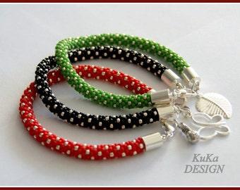 bracelet Silver Dots