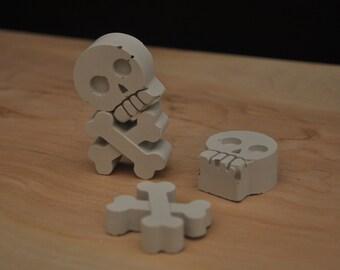 Skull and bones pair