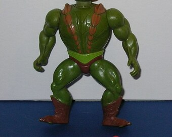 Vintage 1980s Masters of the Universe Complete Kobra Khan figure