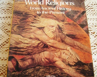 Vintage World Religions From Ancient History to the Present Book Edited By Geoffrey Parrinder 1983