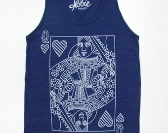 Royal Blue Queen Tank // ON SALE
