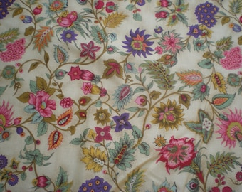 Flowers On Golden Yellow - RED INTERNATIONAL TEXTILES