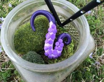 Purple Squid Tentacle Pendant
