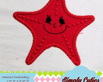 Sea star MACHINE EMBROIDERY / INSTANT