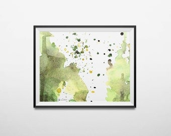Modern Abstract Painting Modern Art Print Contemporary Art Abstract Art Modern Wall Art Modern Painting Abstract Watercolor Art Office Art