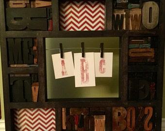Vintage Letterpress Collage