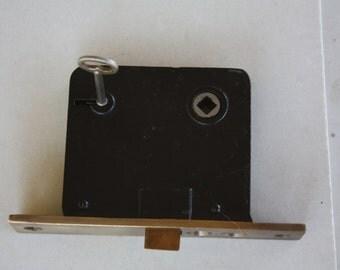 Vintage Norwalk Interior Mortise Push Button Door Latch