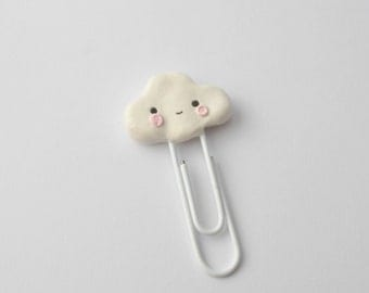 Kawaii Cloud Paperclip