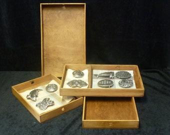 Vintage Industrial Collectors Trays