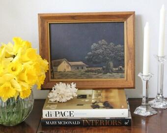 S A L E: Vintage Country Landscape Artwork
