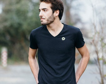 Schmutz bamboo, bamboo & organic cotton V-neck t-shirt