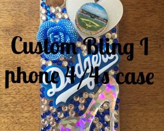 Custom bling I Phone 4/4s case