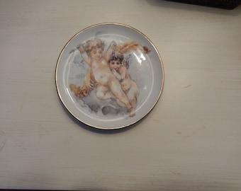 BAVARIA GERMANY BURGWINDHEIM Cherub Plate