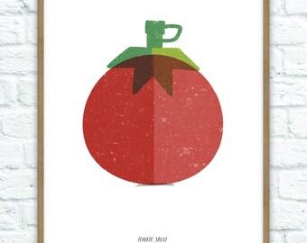 Tomato Sauce Art Print