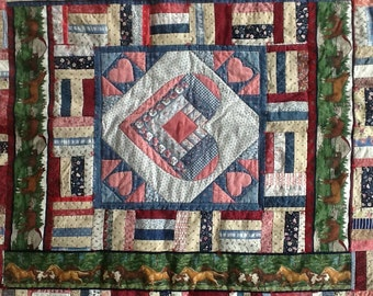 Fourth of July Horses Quilt