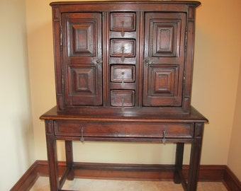 18th Century Continental Cabinet on Stand