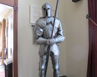 Suit of Armor in the 15th Century Gothic Style