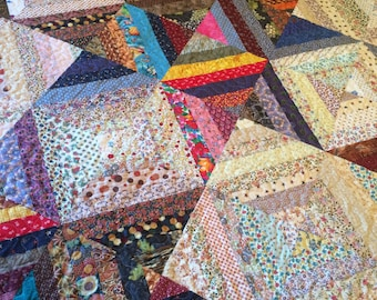 Professionally Crafted Colorful Full/Queen Sized Quilt