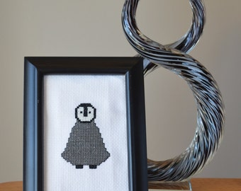 Baby Penguin Cross Stitch Pattern - PDF Instant Download