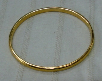 vintage antique 22kt gold bangle bracelet 22kt solid gold