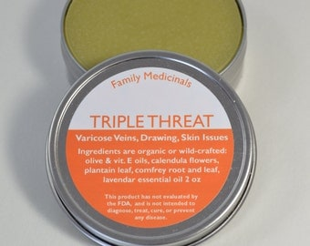 Triple Threat Salve 2 oz.