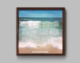 Summer Feelings // Graphic Print