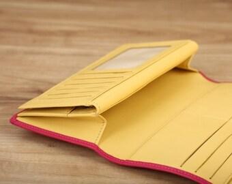 Madisen Long Wallet - Pink