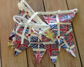 Retro Flags Bunting