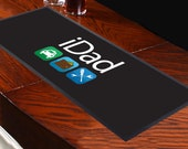 iDad Design Bar Runner Perfect Bar Accessory Bar Mat Party Decoration Ideal Fathers Day Gift