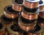 10 feet of 12 gauge 999 pure Half Round copper wire coil dead soft craft and jeweler quality