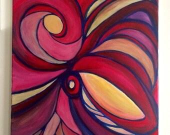 """Original painting """"menagerie"""" 16 x 20"""