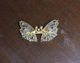 Masriera Fairy Pendant/Brooch