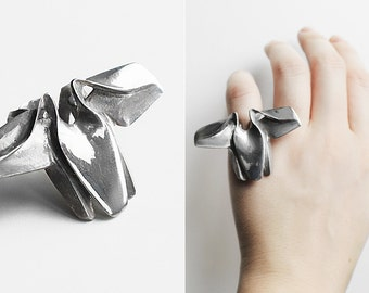Butterfly Bronze Architect Ring