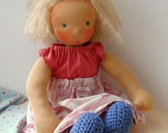 Waldorf doll Rose 32 cm READY TO GO