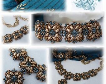 """Schéma Collier et bracelet """" Rani"""""""