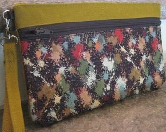 Clutch bags in Handmade fabric