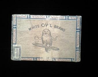 Cigar box / Vintage White Owl / General Cigar Co.