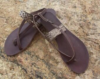 Handmade Turkish Leather Sandal - Daphne: Vera Strap Sandal