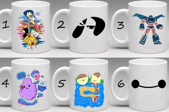 Adventure Time Big Hero 6 Adventure Time Big Hero 6 Mug