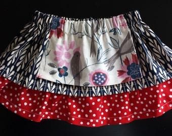 Ruffled Apron Skirt