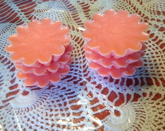 Handmade soy wax candle melts heavily scented for use in a warmer!  Can use in your Scentsy warmer!