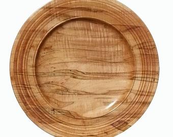 Large maple platter