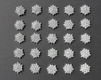 Wholesale 10x Sparkling Rhinestone Buttons Diamante Embellishment DIY Craft Silver Free Postage