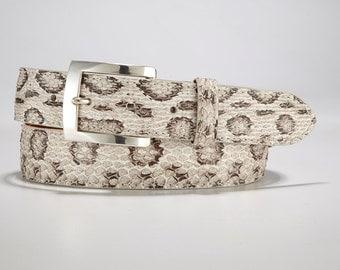 Authentic, Genuine Viper Skin Belt